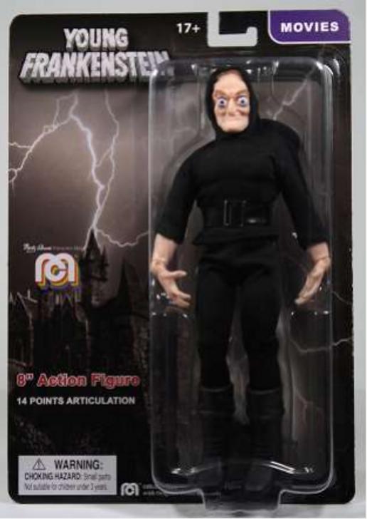 """Mego Action Figure 8"""" Young Frankenstein Igor"""