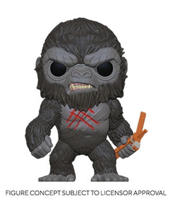 Funko POP Movies: Godzilla Vs Kong- Battle-Scarred Kong