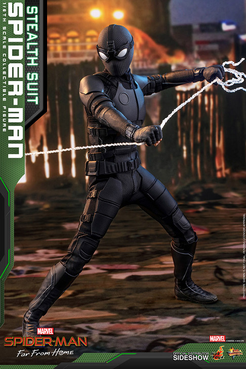 Hot Toys Spider-Man Far From Home Stealth Suit Masterpiece Series