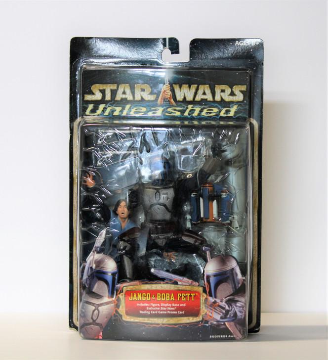 Hasbro Star Wars Unleashed Jango and Boba Fett