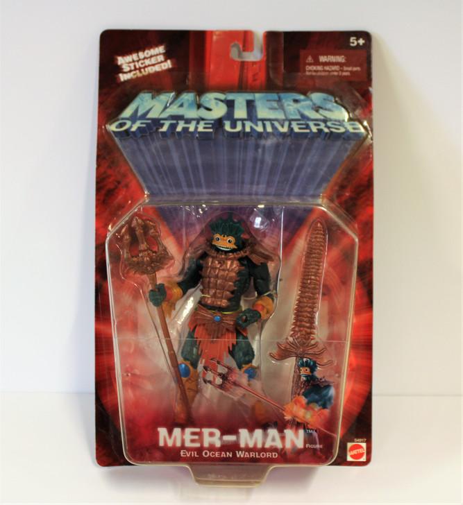 Mattel MOTU 200X Mer-Man Action Figure