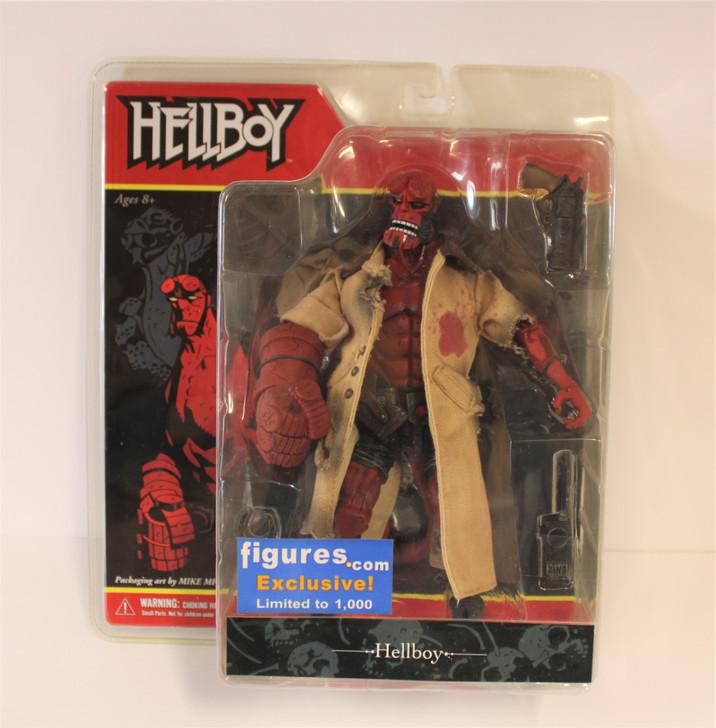 Mezco Hellboy (2005) Figures.com (Open Mouth) Exclusive Action Figure