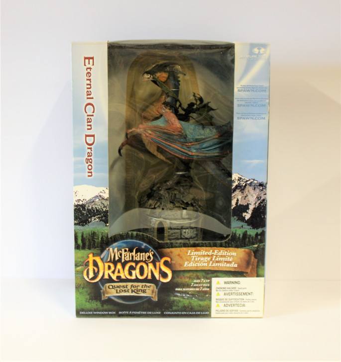 McFarlane's Dragons Eternal Clan Dragon Deluxe Box Set