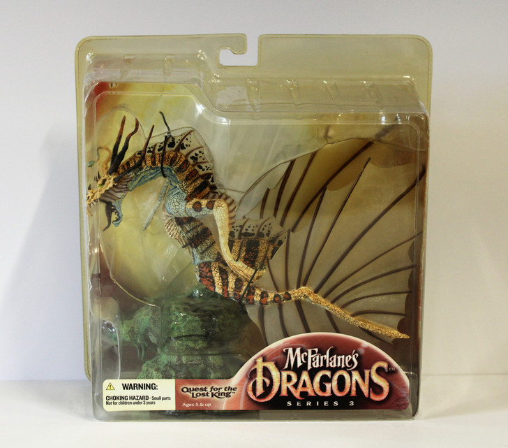 McFarlane's Dragons Series 3 Water Clan Dragon
