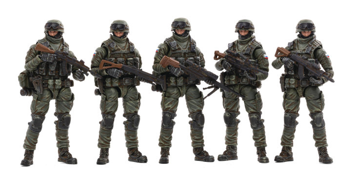Joy Toy Russian Naval Infantry 1/18 action figure 5 pack