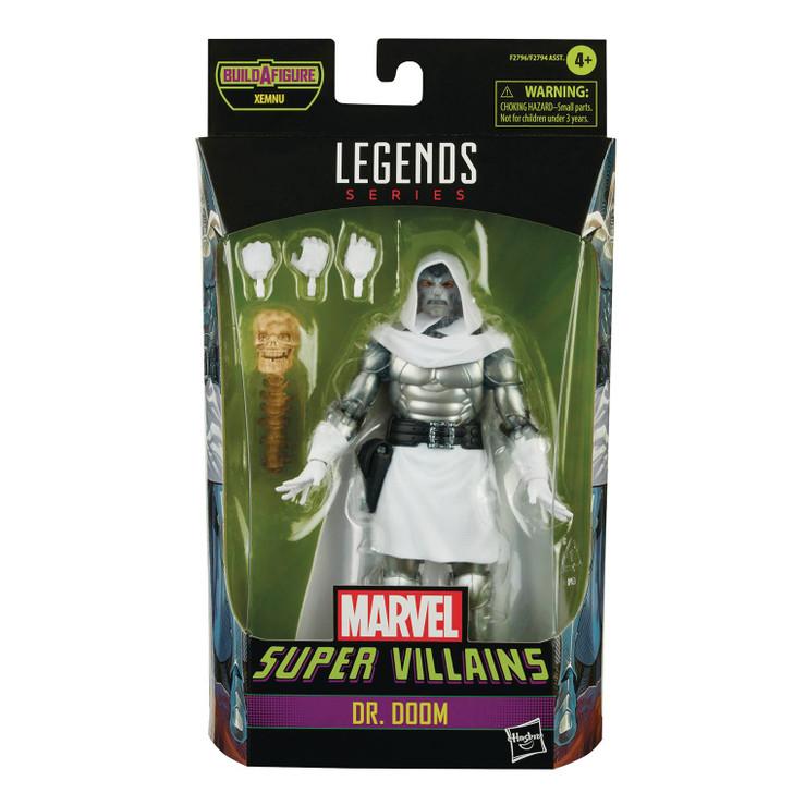 Hasbro Marvel Legends Villains Dr. Doom Battleworld Action Figure