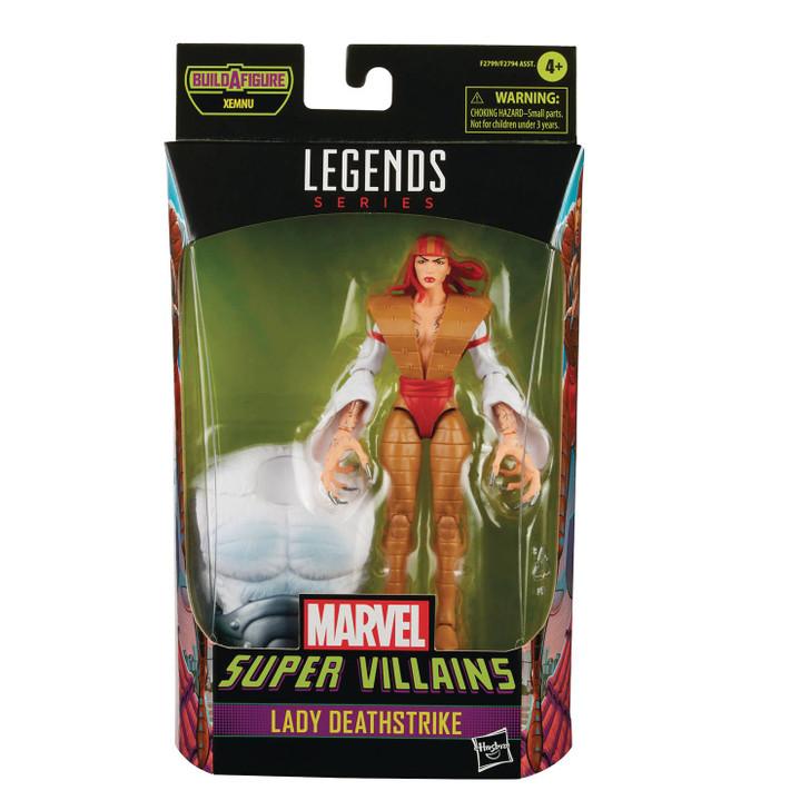 Hasbro Marvel Legends Villains Lady Deathstrike Action Figure