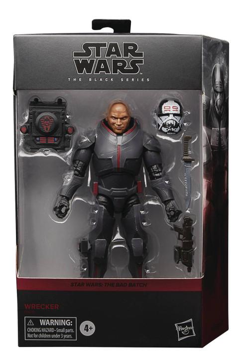 "Hasbro Star Wars 6"" Black Series Bad Batch Wrecker Action Figure"