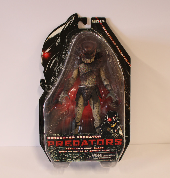 "NECA Predators Berserk Predator 7"" action figure"