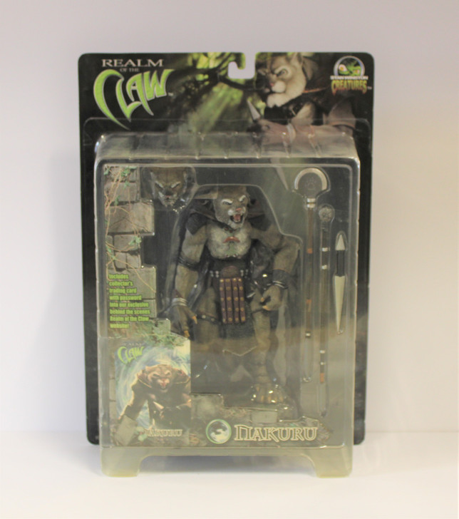 Stan Winston Creatures (2001) Realm of the Claw Nakuru Action Figure