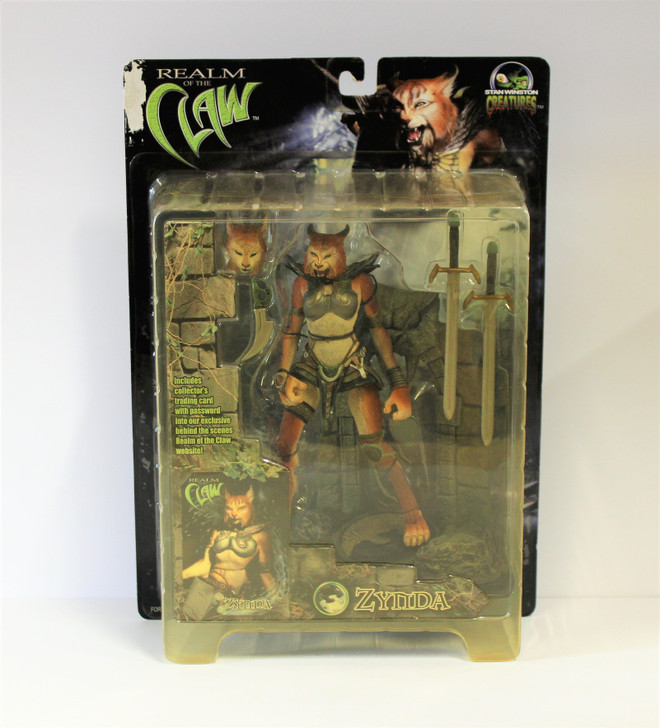 Stan Winston Creatures (2001) Realm of the Claw Zynda Action Figure