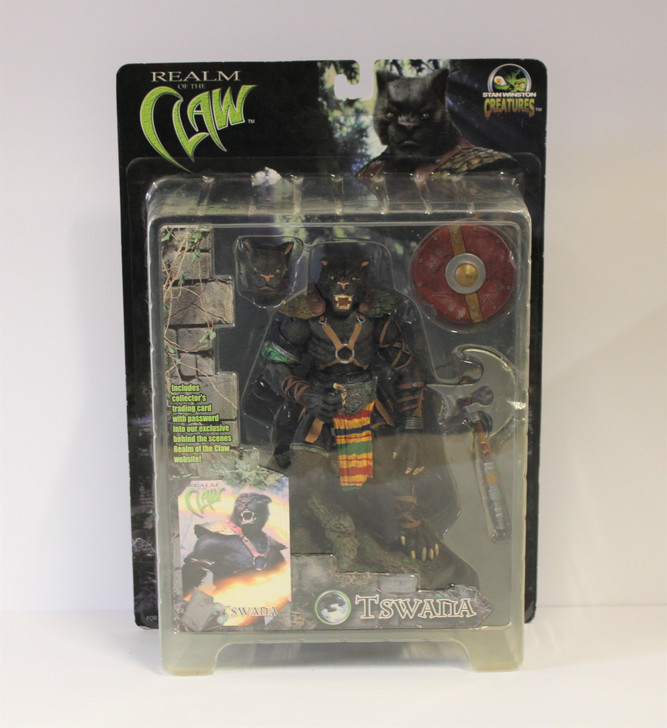 Stan Winston Creatures (2001) Realm of the Claw Tswana Action Figure