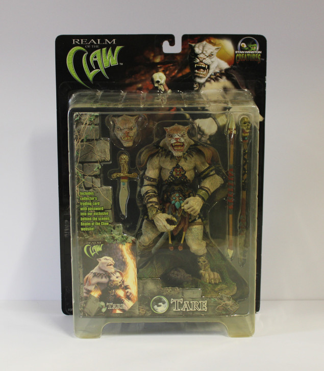 Stan Winston Creatures (2001) Realm of the Claw Tare Action Figure