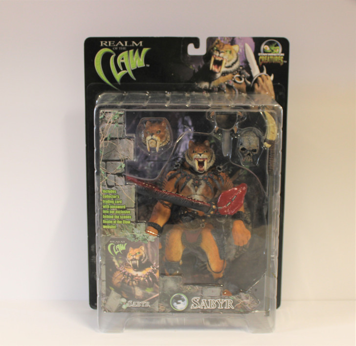 Stan Winston Creatures (2001) Realm of the Claw Sabyr Action Figure