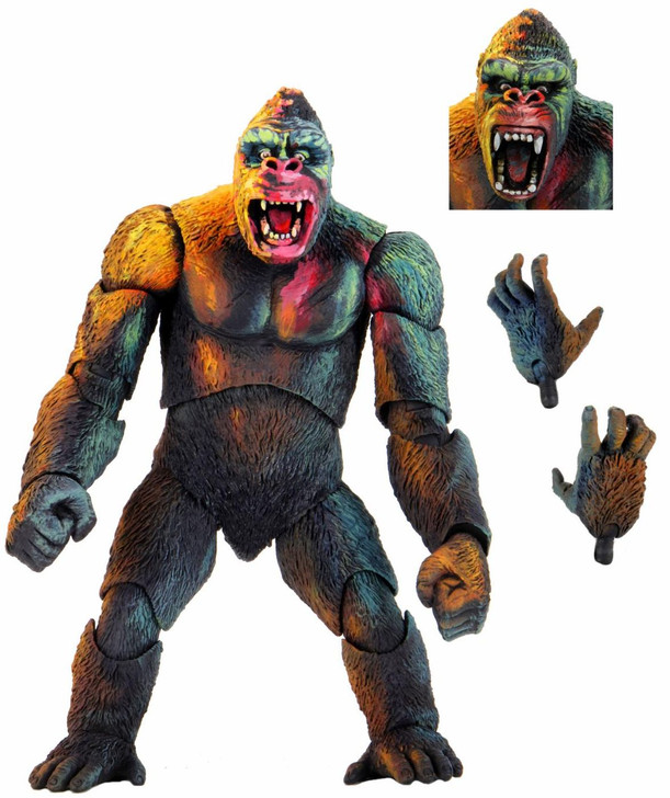 """NECA King Kong - 7"""" Scale Action Figure - King Kong (Illustrated)"""