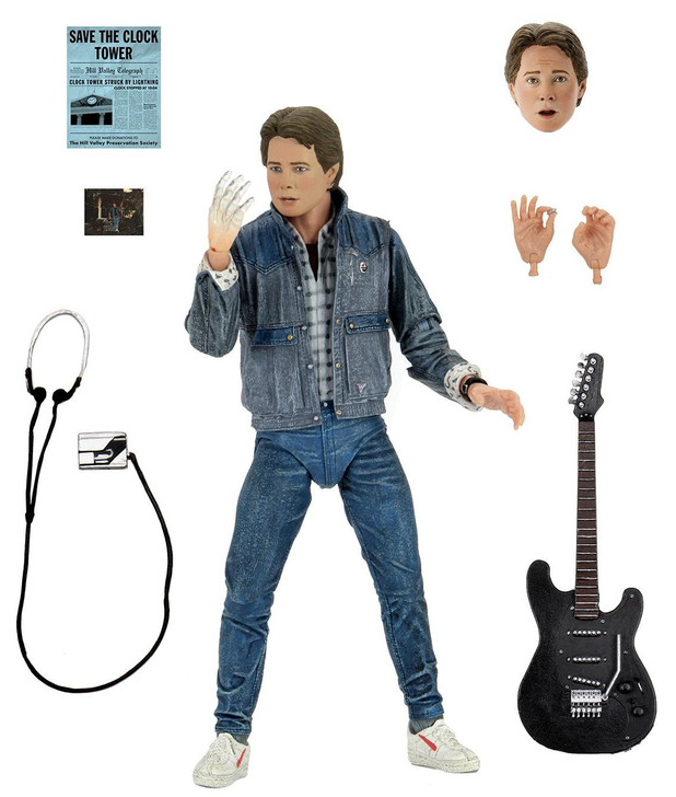 """NECA Back to the Future - 7"""" Scale Action Figure - Ultimate Marty McFly 1985 (Audition)"""