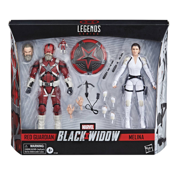 Hasbro Marvel Legends Black Widow Red Guardian and Melina Action Figure box set