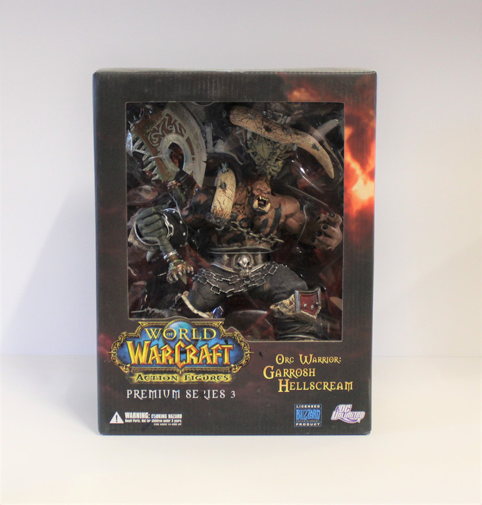 DC Unlimited World of Warcraft Premium Figures  Series 3 Garrosh Hellscream