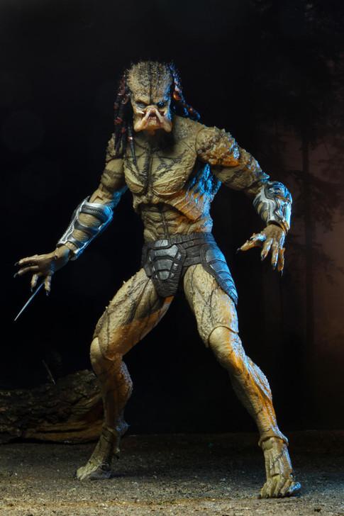 """NECA Predator (2018) - 7"""" Scale Action Figure - Deluxe Ultimate Assassin Predator (unarmored)"""