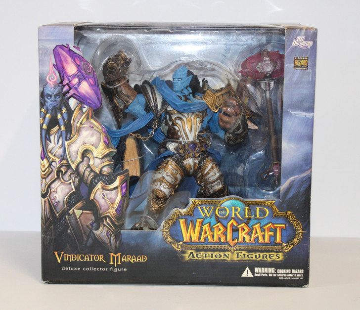 DC Unlimited World of Warcraft Premium Figures  Vindicator Maraad