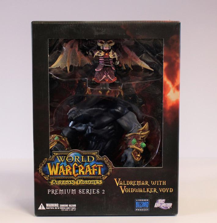 DC Unlimited World of Warcraft Premium Figures Series 2  Valdremar with Voidwalker Voyd