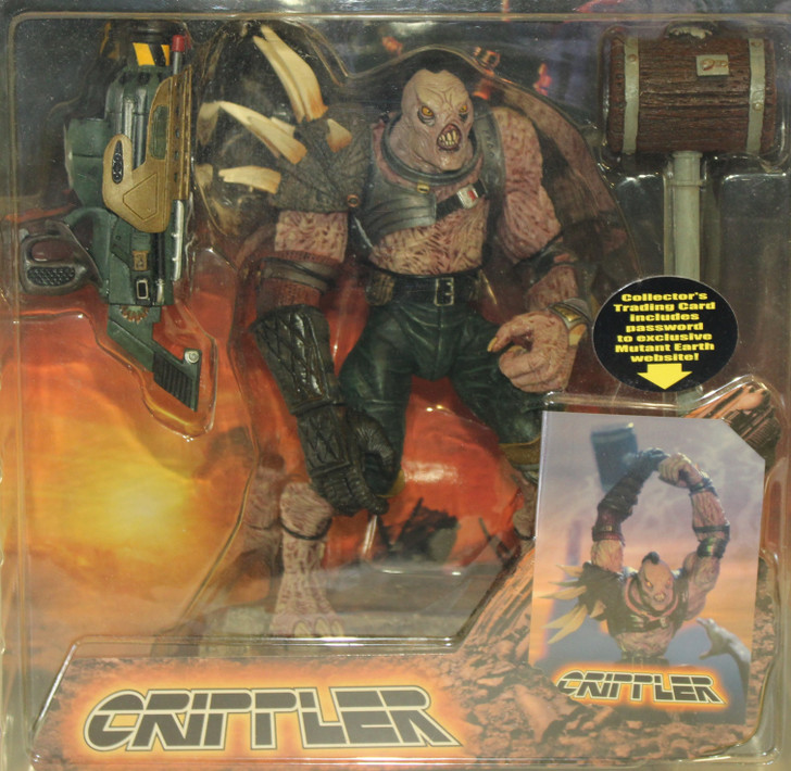 Stan Winston Creatures (2001) Mutant Earth Crippler Action Figure