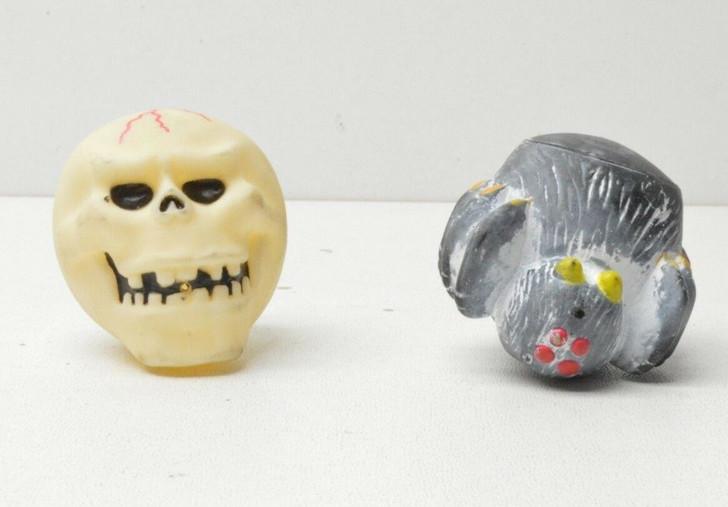 Horror Mad Balls/Spit Balls Spider and Skull lot