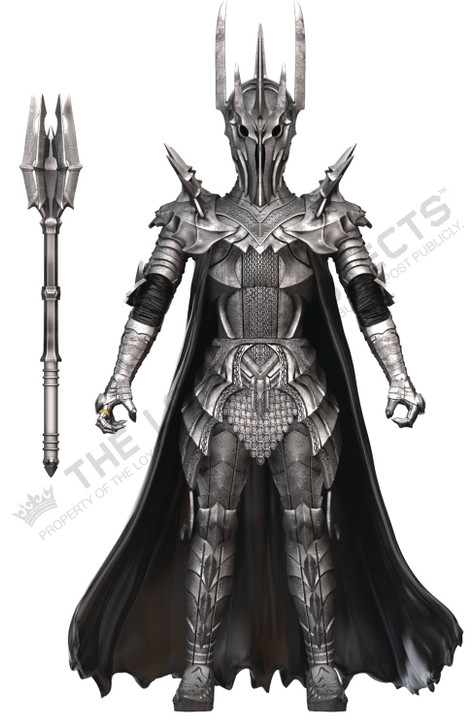 BST AXN  Lord of the Rings Sauron action figure