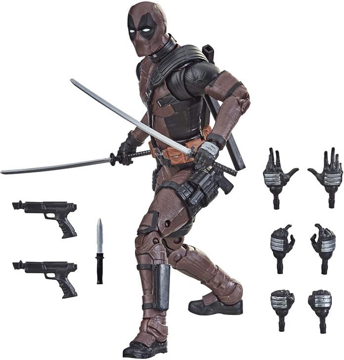 "Hasbro Marvel Legends Series 6"" Premium Deadpool Action Figure Exclusive"