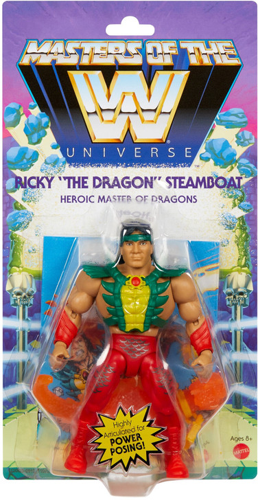 "WWE Masters Of The WWE Universe Ricky ""The Dragon"" Steamboat Action Figure"