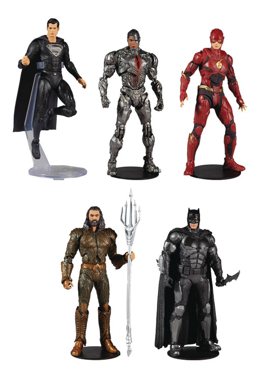 McFarlane DC Multiverse Justice League 7in Action Figure Set of 5