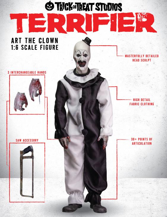 "Trick or Treat Studios Terrifier Art the Clown 12"" Action Figure"