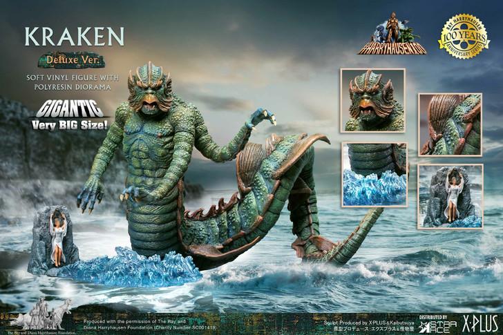 Star Ace Ray Harryhausen's Kraken Vinyl Deluxe Statue