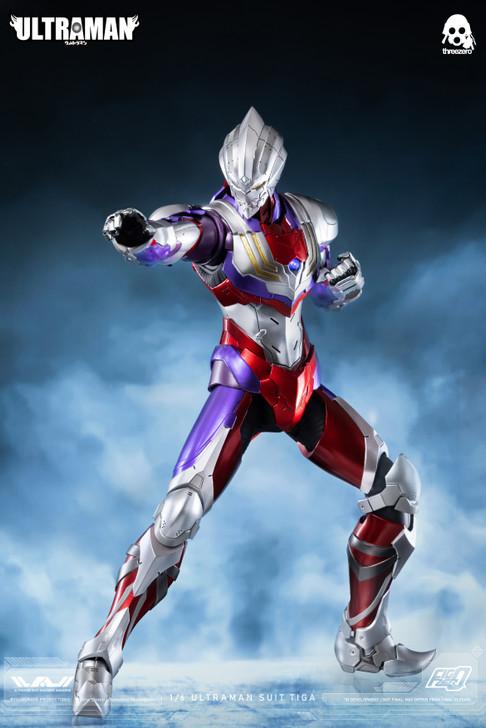 threeZero Ultraman Tiga 1/6th scale Collectors figure