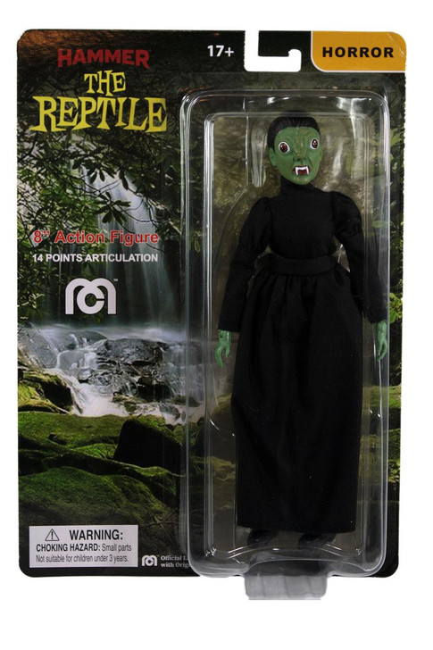"Mego Action Figure 8"" Hammer Films Reptile"