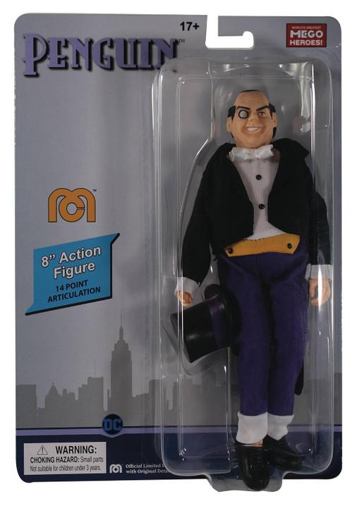 """Mego Action Figure 8"""" DC Comics The Penguin"""