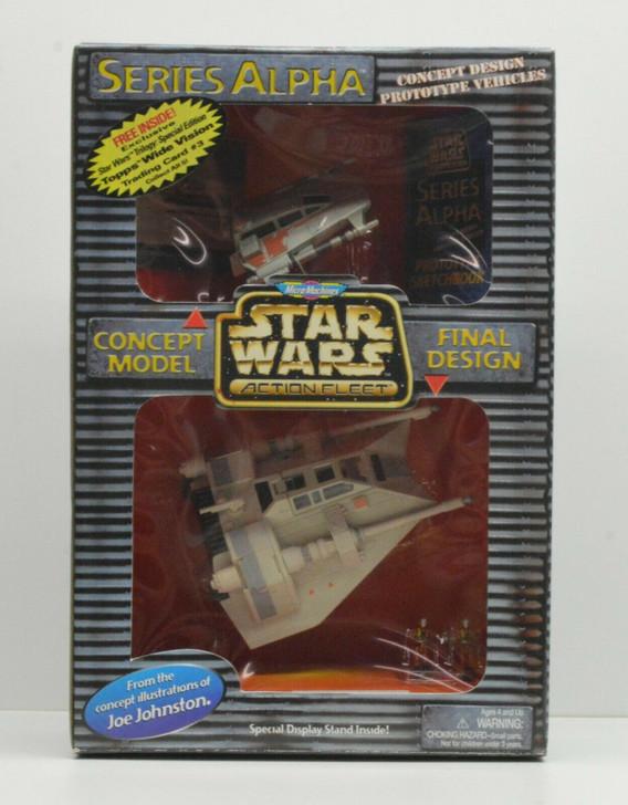 Galoob Star Wars Action Fleet Series Alpha Rebel Snowspeeder