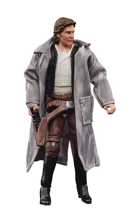 Hasbro Star Wars The Vintage Collection Han Solo Endor action figure