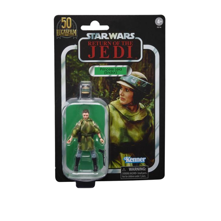 Hasbro Star Wars The Vintage Collection Princess Leia Endor action figure