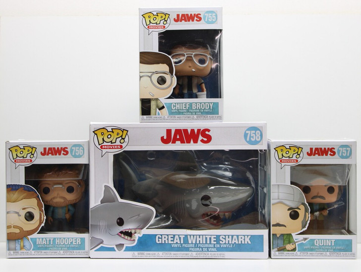 Funko Pop! Movies JAWS Set of 4
