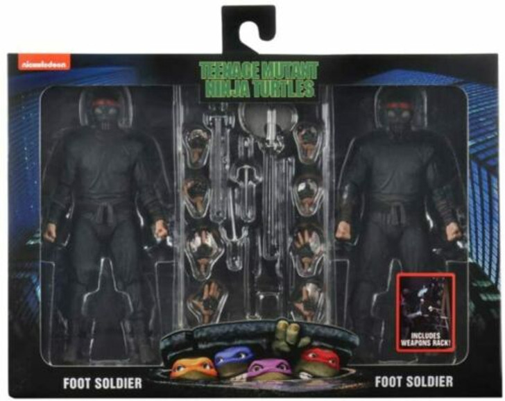 NECA TMNT Movie Foot Soldier 2-pack