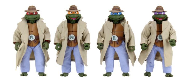 NECA TMNT Turtles in Disguise 4-pack