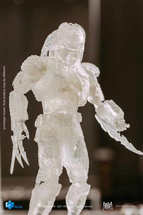Hiya AVP Invisible Chopper 1/18th scale Action Figure