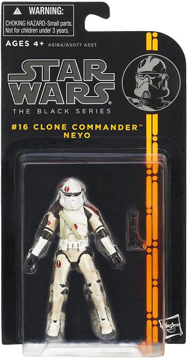 Star Wars Black Series Clone Commander Neyo #16 Action Figure