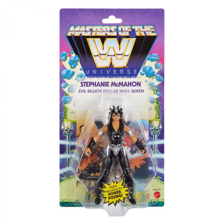 WWE Masters Of The WWE Universe Stephanie McMahon Action Figure