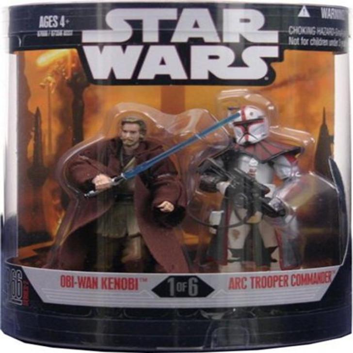 Star Wars Order 66 Obi-Wan Kenobi and ARC Trooper Commander