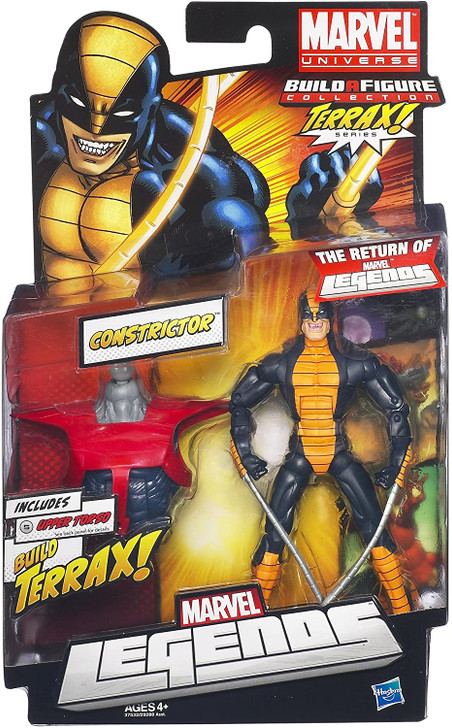 "Hasbro Marvel Legends Constrictor 6"" Action Figure"