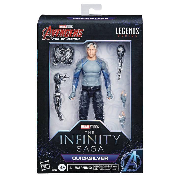 Hasbro Marvel Legends Infinty Saga Quicksilver Action Figure