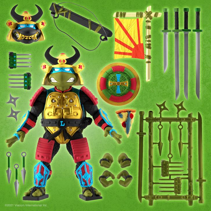 Super7 TMNT Ultimates Leo the Sewer Samurai Action Figure