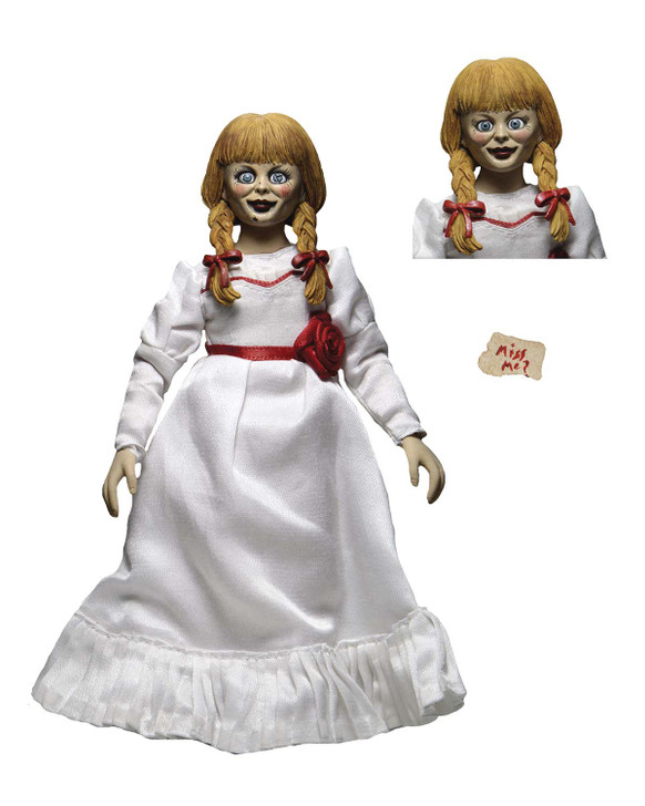 """NECA The Conjuring Universe - 8"""" clothed Action Figure -Annabelle comes home"""